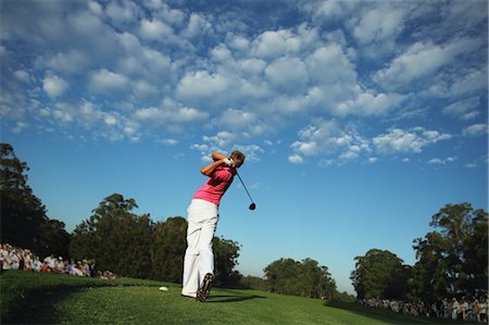 Man Playing Golf Stock Photo - Rights-Managed, Code: 858-05799025