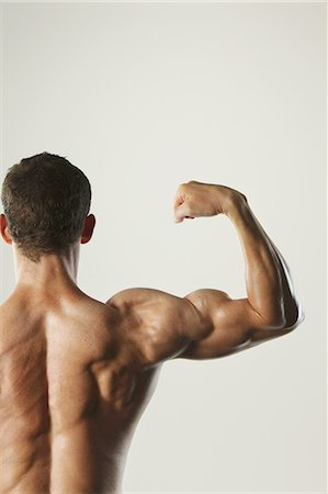 spinal column - Body Builder Stock Photo - Rights-Managed, Code: 858-06617665