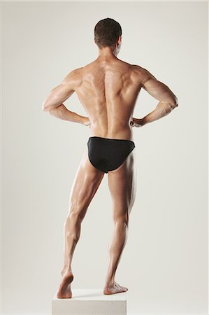 Body Builder Stock Photo - Rights-Managed, Code: 858-06617673