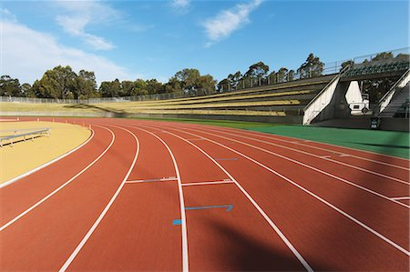 race track (people) - Running Track Stock Photo - Rights-Managed, Code: 858-06756256