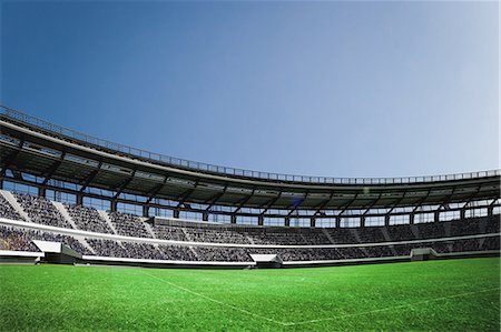 soccer fan - CG stadium Stock Photo - Rights-Managed, Code: 858-08421629