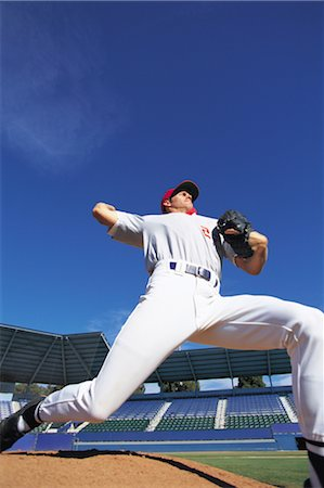 professional baseball game - Sports Stock Photo - Rights-Managed, Code: 858-03044577