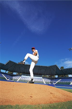 professional baseball game - Sports Stock Photo - Rights-Managed, Code: 858-03044578