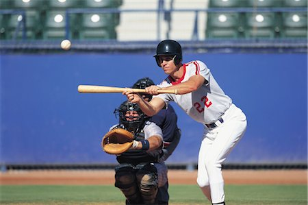 professional baseball game - Sports Stock Photo - Rights-Managed, Code: 858-03044608