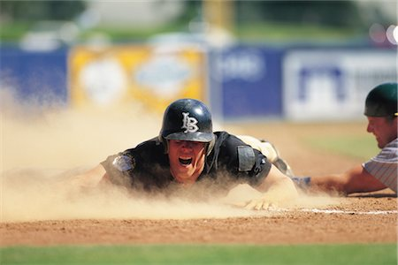 professional baseball game - Sports Stock Photo - Rights-Managed, Code: 858-03044612
