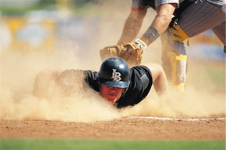 professional baseball game - Sports Stock Photo - Rights-Managed, Code: 858-03044613