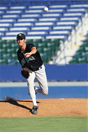 professional baseball game - Sports Stock Photo - Rights-Managed, Code: 858-03044624