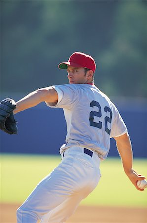 professional baseball game - Sports Stock Photo - Rights-Managed, Code: 858-03044629
