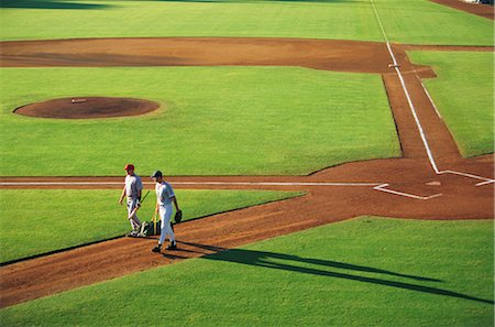 professional baseball game - Sports Stock Photo - Rights-Managed, Code: 858-03044655