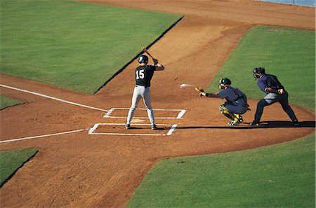 professional baseball game - Sports Stock Photo - Rights-Managed, Code: 858-03044651