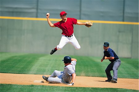 professional baseball game - Sports Stock Photo - Rights-Managed, Code: 858-03044666