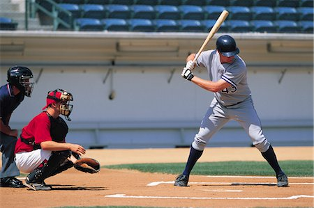 professional baseball game - Sports Stock Photo - Rights-Managed, Code: 858-03044669
