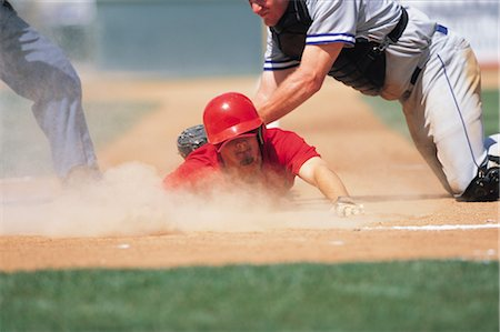 professional baseball game - Sports Stock Photo - Rights-Managed, Code: 858-03044675