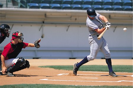 professional baseball game - Sports Stock Photo - Rights-Managed, Code: 858-03044670