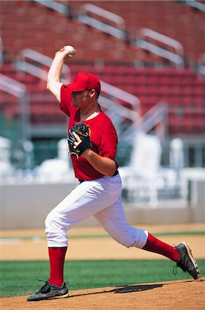 professional baseball game - Sports Stock Photo - Rights-Managed, Code: 858-03044671