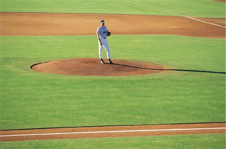 professional baseball game - Sports Stock Photo - Rights-Managed, Code: 858-03044695