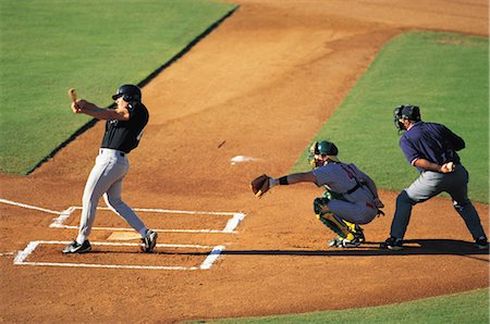 professional baseball game - Sports Stock Photo - Rights-Managed, Code: 858-03044690