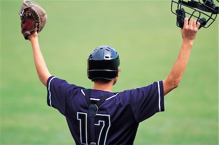 professional baseball game - Sports Stock Photo - Rights-Managed, Code: 858-03044836