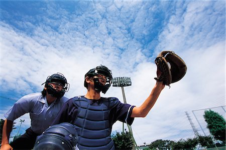 professional baseball game - Sports Stock Photo - Rights-Managed, Code: 858-03044833