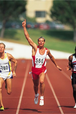 sprint - Sports Stock Photo - Rights-Managed, Code: 858-03045531