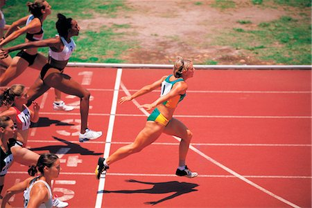 sprint - Sports Stock Photo - Rights-Managed, Code: 858-03045727