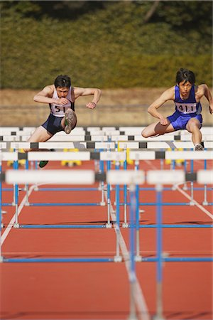 Hurdle Race Stock Photo - Rights-Managed, Code: 858-03046996
