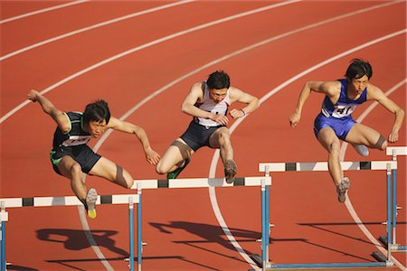Hurdle Race Stock Photo - Rights-Managed, Code: 858-03049107