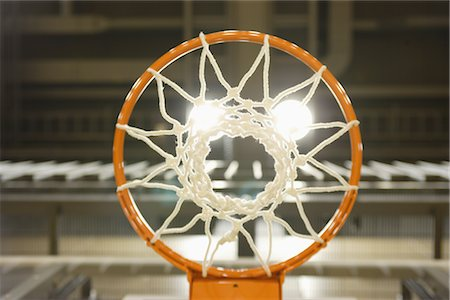 Basketball Hoop Stock Photo - Rights-Managed, Code: 858-03050456