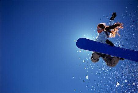 Snowboarding Stock Photo - Rights-Managed, Code: 858-03051859
