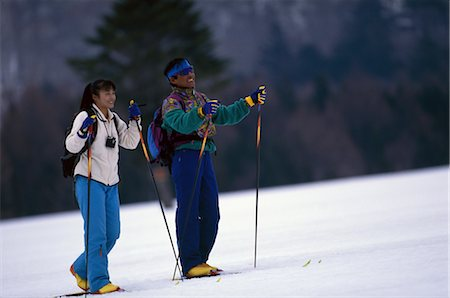 Skiing Stock Photo - Rights-Managed, Code: 858-03052419