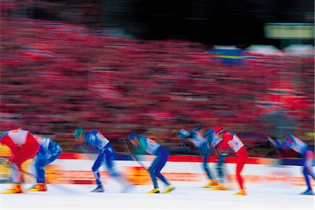 Ice Skating Stock Photo - Rights-Managed, Code: 858-03053569