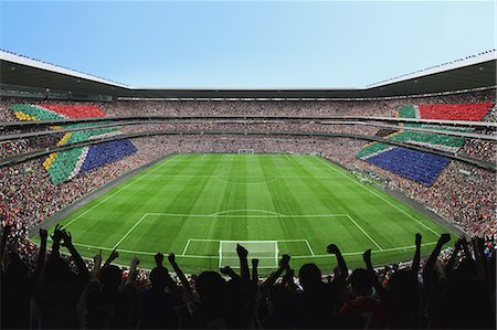 soccer fan - Soccer Pitch Stock Photo - Rights-Managed, Code: 858-03474771