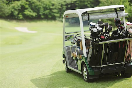 Golf Cart Stock Photo - Rights-Managed, Code: 858-03694203