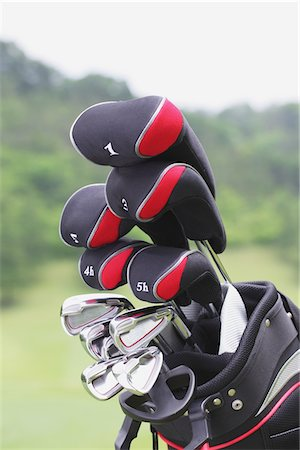 Golf Club Stock Photo - Rights-Managed, Code: 858-03694292