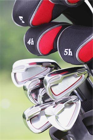 Golf Club Stock Photo - Rights-Managed, Code: 858-03694293