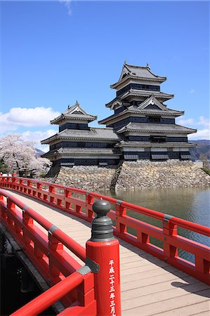 Matsumoto Castle, Nagano Prefecture, Japan Stock Photo - Rights-Managed, Code: 859-06380297