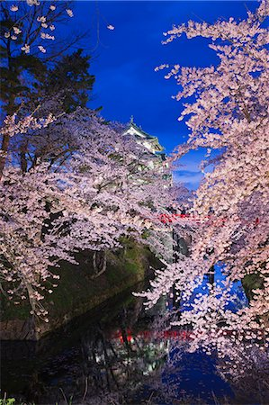 Hirosaki Castle, Aomori Prefecture, Japan Stock Photo - Rights-Managed, Code: 859-06380340