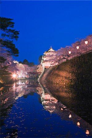 Hirosaki Castle, Aomori Prefecture, Japan Stock Photo - Rights-Managed, Code: 859-06380341