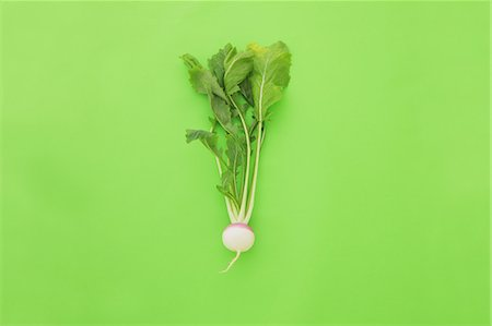 delicious - Turnip on green background Stock Photo - Rights-Managed, Code: 859-06470235