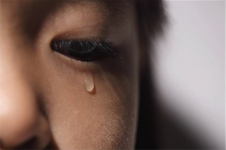 sad girls - Close up of crying girl face Stock Photo - Rights-Managed, Code: 859-06537708