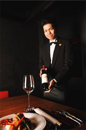 descriptive - Sommelier Stock Photo - Rights-Managed, Code: 859-06537788