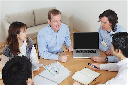 descriptive - Meeting Stock Photo - Rights-Managed, Code: 859-06537925