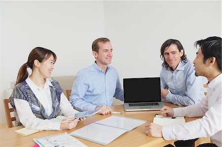 descriptive - Meeting Stock Photo - Rights-Managed, Code: 859-06537927