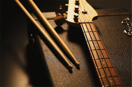 Musical equipment Stock Photo - Rights-Managed, Code: 859-06537952