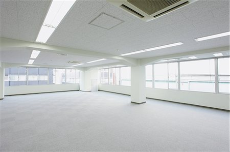 pillar - Empty office interior Stock Photo - Rights-Managed, Code: 859-06538157