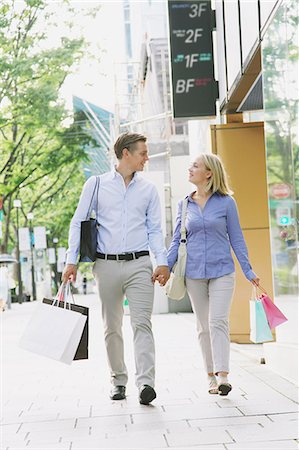 Young couple shopping Stock Photo - Rights-Managed, Code: 859-06538284