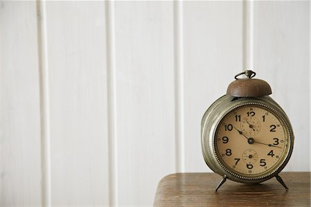 Table clock Stock Photo - Rights-Managed, Code: 859-06538355