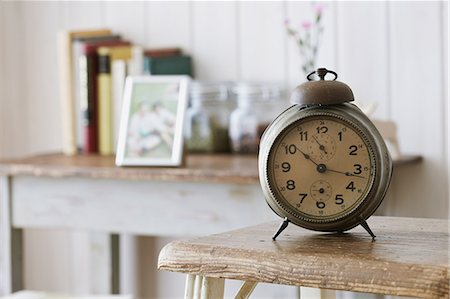 Table clock Stock Photo - Rights-Managed, Code: 859-06538363