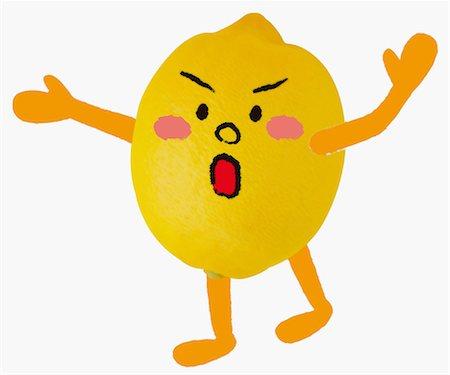 Lemon Illustration Stock Photo - Rights-Managed, Code: 859-06617601