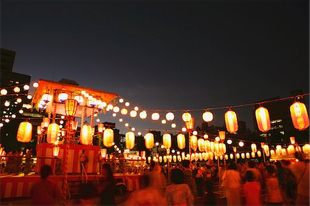 Japanese Summer festival Stock Photo - Rights-Managed, Code: 859-06710958